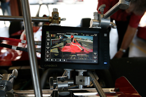 How To Shoot An F1 Car In 3D