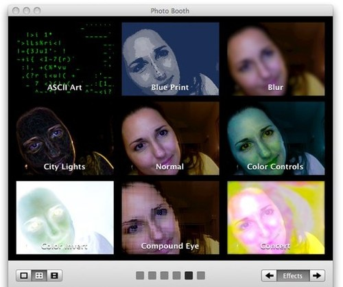 Mac OS X: Photo Booth and iChat's handful of native effects are fun ...