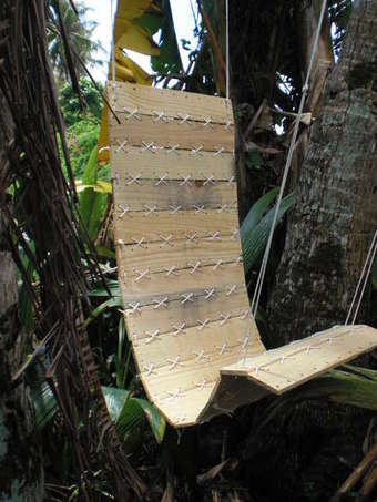 Make a Hanging Chair Out of a Wooden Shipping Pallet