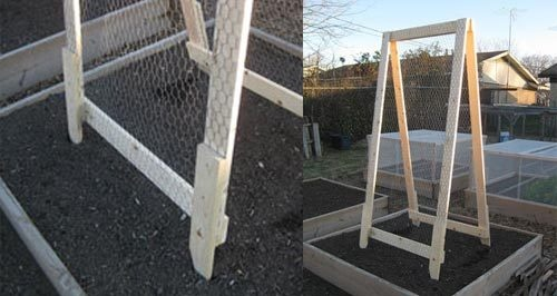 Build an A-Frame Vegetable Trellis for Small Footprint Gardening