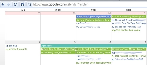 Mini Google Calendar Strips GCal Down For iCal-Style Minimalism