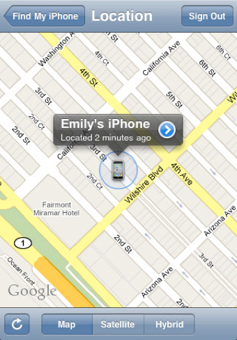 Find My Iphone With Mobileme