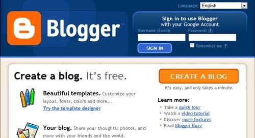 is blogging free