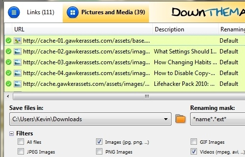 DownThemAll 2.0 Beta Adds Great New Features to the Killer Download Manager