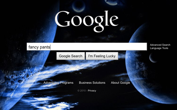 Google search homepage gets bing like backgrounds for Homepage wallpaper