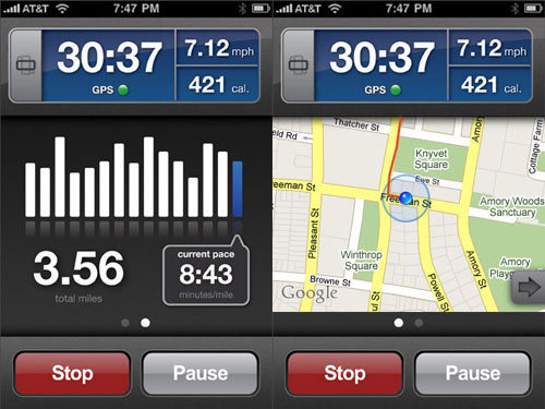 Five Best Mobile Fitness Apps