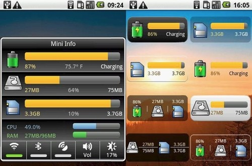 Mini Info Is a Thorough and Easy To Read Android System Monitor