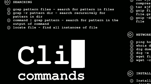 Cli Commands Wallpaper Boosts Your Terminal Talent