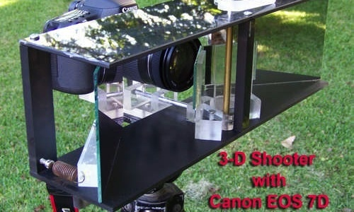 Build a One-Camera 3D Photography Rig