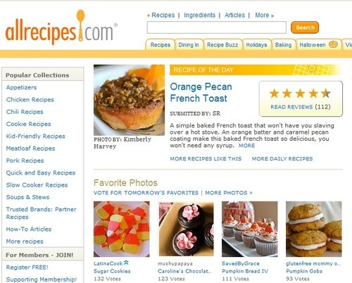 Five Best Recipe Search Tools