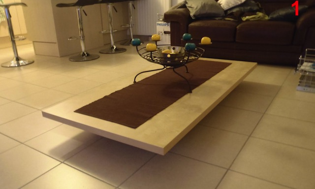 DIY Coffee Table Dining Room