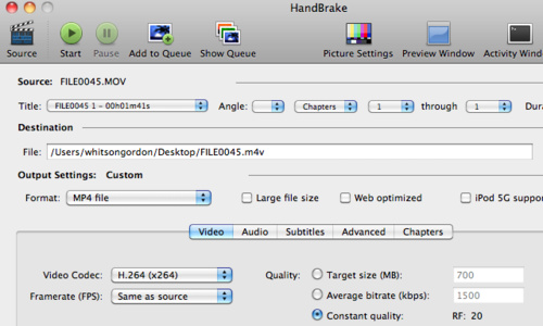 Handbrake 0.9.5 Adds Batch Scanning, Queue Editing, and Blu-ray Support