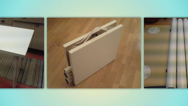make a diy ikea folding table on the cheap lifehacker australia