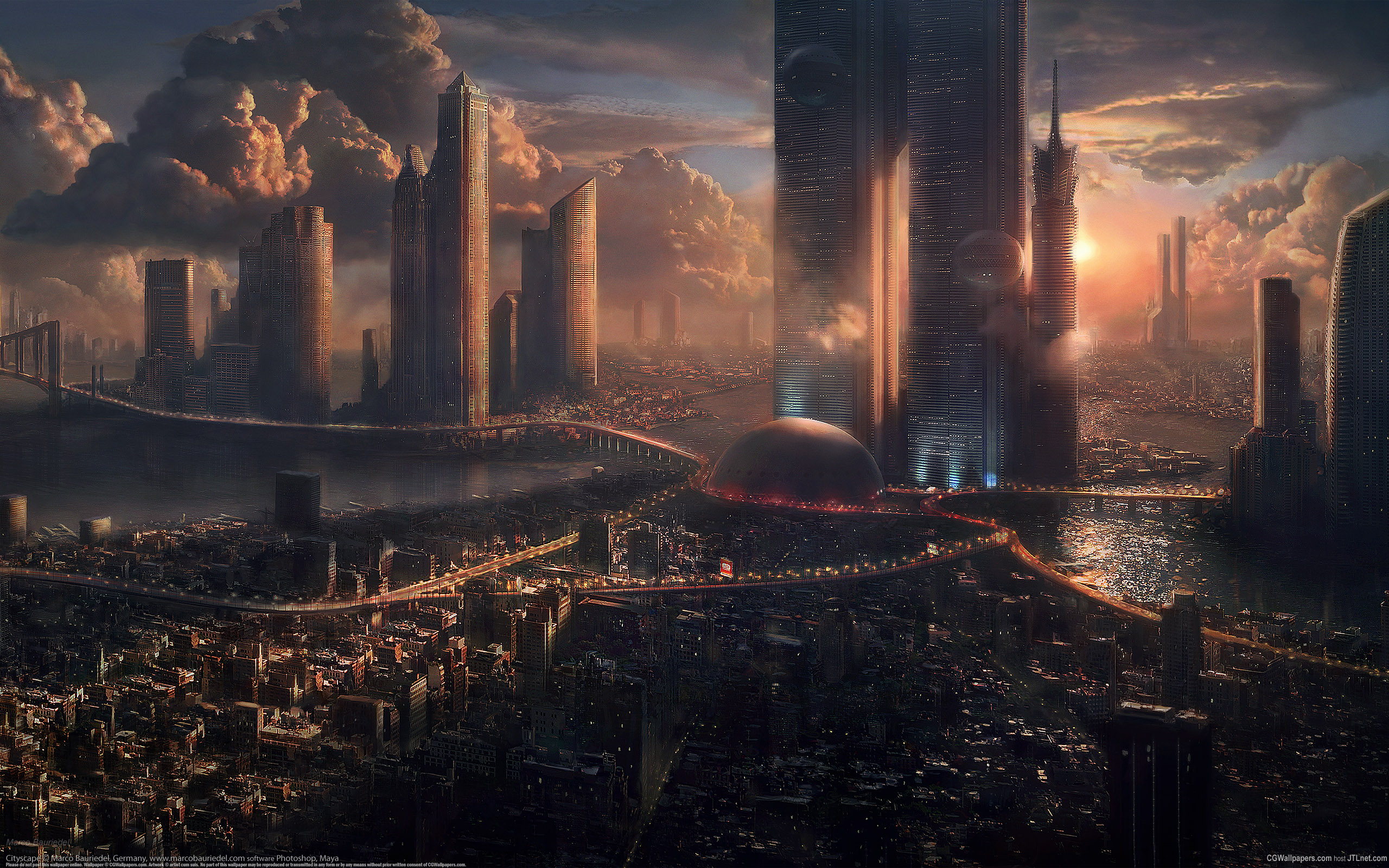 sci fi cities on other planets - photo #4
