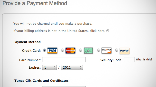 Create An Apple ID In iTunes Account Without A Credit Card ...