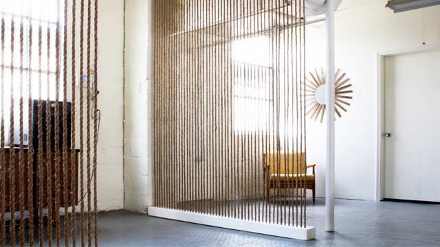 Keep Your Place Partitioned With Stretched Rope Room