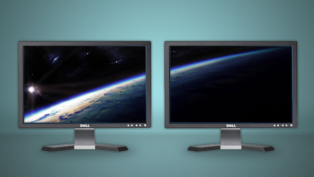 set your many desktops to these multi screen wallpapers