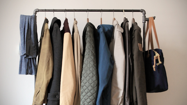 Make Your Own IndustrialStyle Clothing Rack Lifehacker Australia Best How To Make Your Own Coat Rack