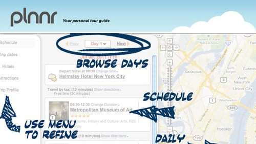Plnnr Generates Free, Customized Itineraries for Your Next Vacation
