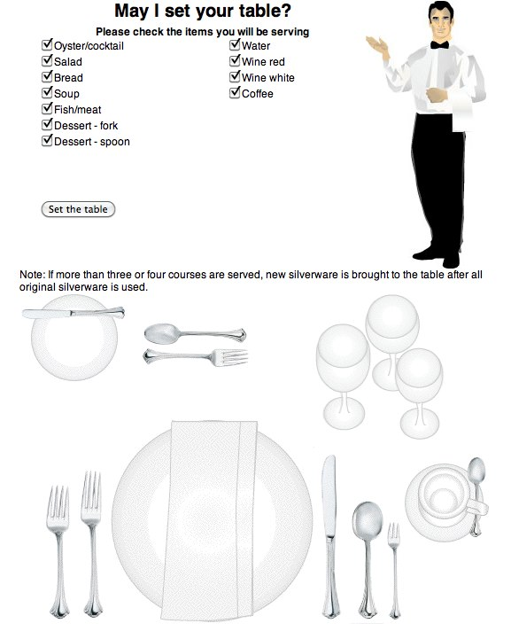 How To Set The Table Properly | Lifehacker Australia