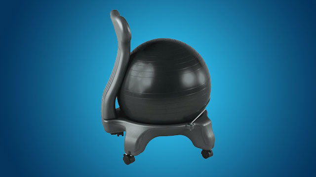 why i switched my office chair with an exercise ball lifehacker