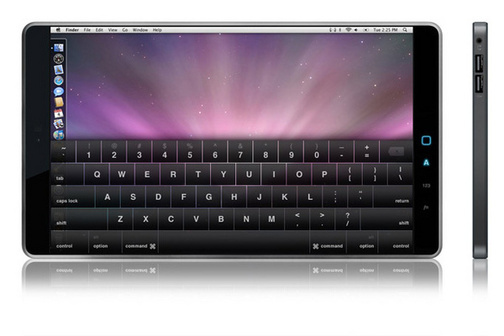 Apple Tablet Likely Described in Patent