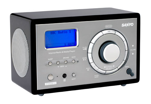Sanyo R227 Internet Radio, Perfect Use for the Neighbour's ...