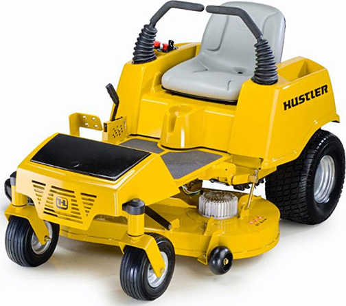 hustler zeon electric riding mower