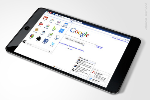 Google and HTC Working On A Chrome OS Tablet