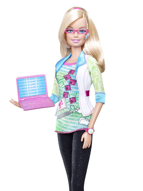 Computer Engineer Barbie photo