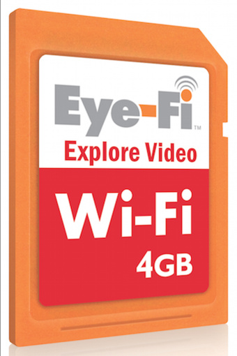 Eye-Fi X2 Cards Double Capacity and Hotspot Access, Keep Prior Generation's Price