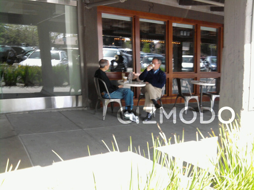 Steve Jobs and Eric Schmidt Spotted Together  Again