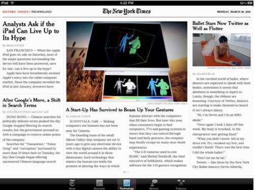 Gizmodo's Essential iPad Apps