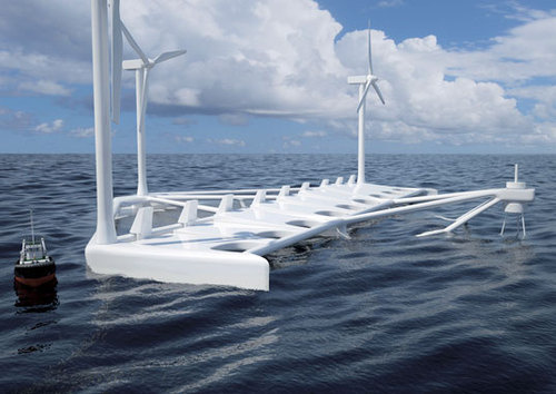 Poseidon 37: A Floating Power Plant For the  Roughest Seas
