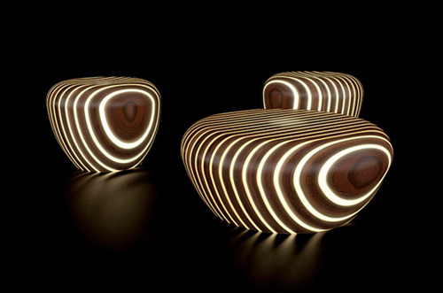 Bright Woods 39 Wooden Chairs Look Like Zebra Turds