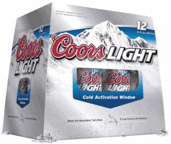 Coors Light Invents Cold Activation Window Gizmodo Australia