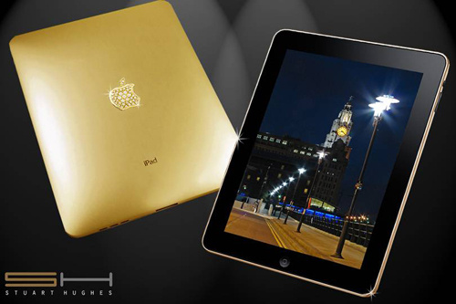 And Then There Was A Solid Gold iPad