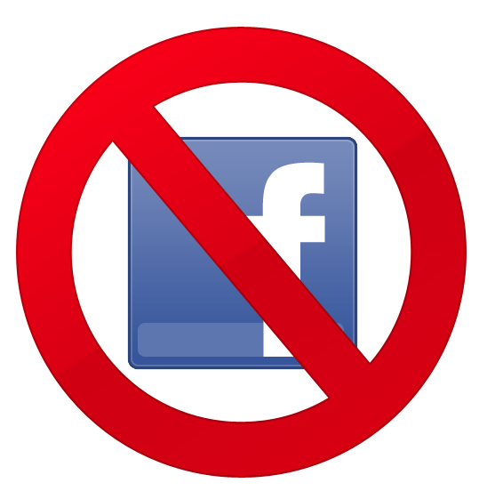 Ban Facebook - Image courtesy of gawkerassets.com