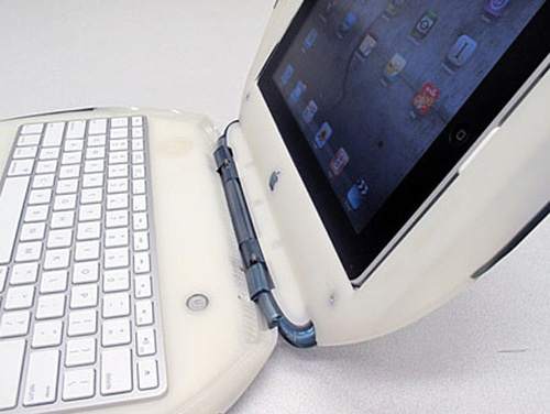 This Apple iBook Has a Built-In iPad