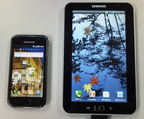 Samsung Galaxy Tab Tablet To Come In 7, 8 and 10-Inch Models?