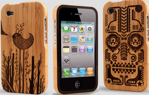 Bamboo iPhone 4 Cases Show Your Green-Leaning
