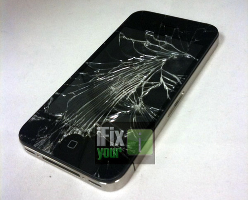First Broken iPhone 4 Screen