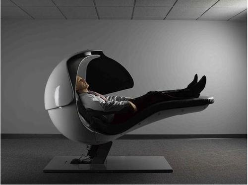 Google Employees Sleep In Alien-Like Pods