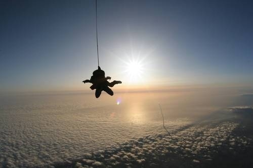 Space Shuttle Skydive