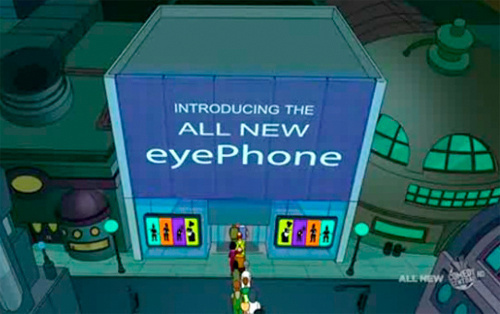 Futurama Weirdly Removes eyePhone  Reference From Online Clip