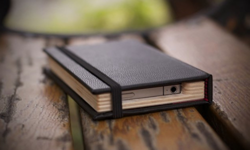 Hide Your iPhone 4 In A Little Black Book
