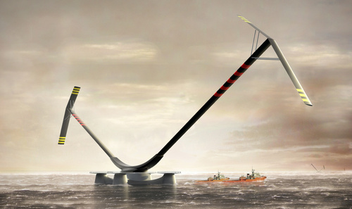 The Most Powerful Wind Turbine Looks Like the Weirdest Too