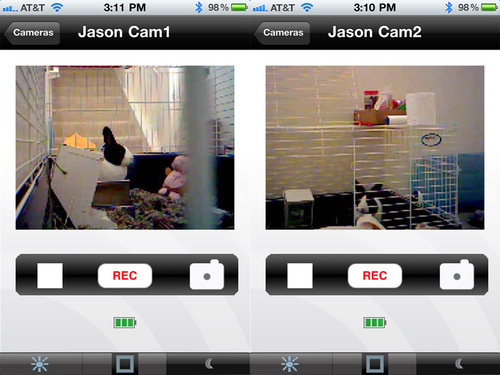Vue Wireless Home Monitoring's iPhone Client Is Pretty Decent