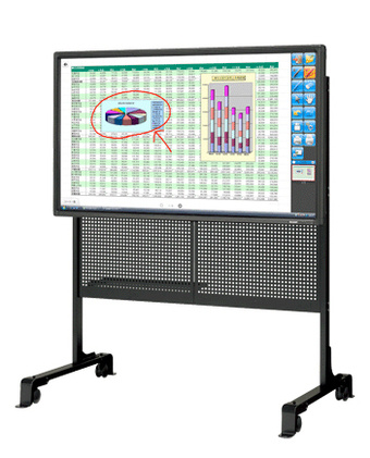 I Want To Teach in a School of the Future With Sharp's 60-inch LCD Blackboard