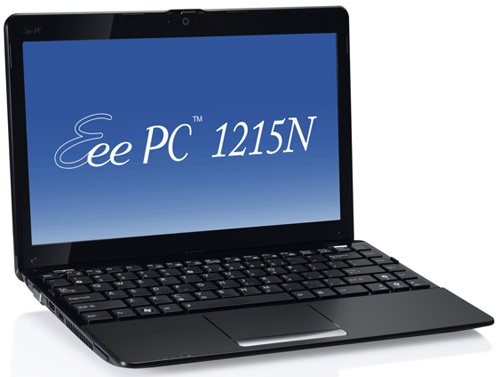 The Eee PC 1215N by ASUS is Fastest Netbook Yet&#8212;But Measures 12-Inches